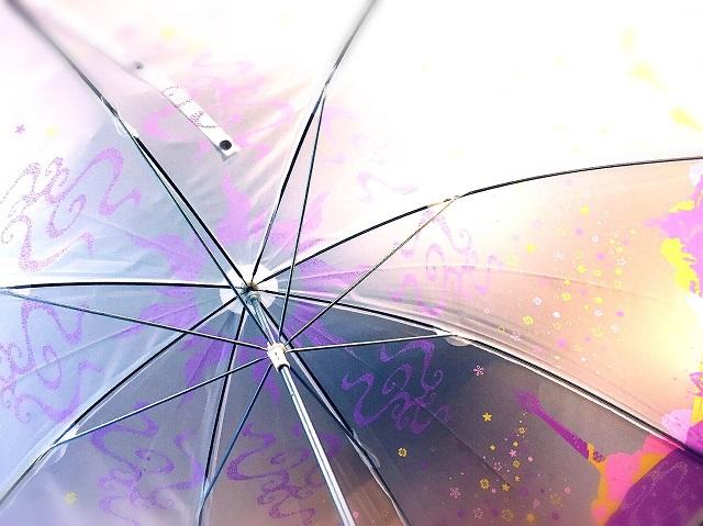 セブン限定ディズニープリンセスのビニール傘