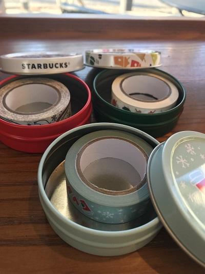 スターバックス マスキングテープ