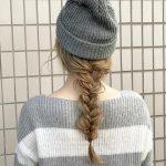 【動画付き】ニット帽を使った大人可愛いヘアアレンジまとめ!ロングヘア&ショートヘア編