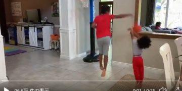 【動画】弟への容赦ない洗礼!兄のハエタタキが炸裂!